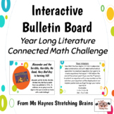 Literature Connection Math Challenge