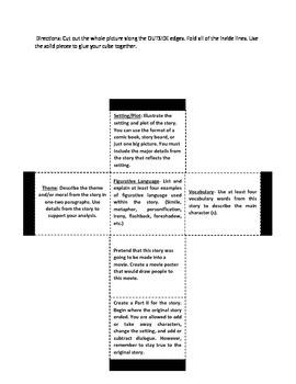 Differentiation Literature cube