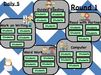 Literature (Daily 5) Rotations