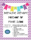 Literature Differentiated, Interactive, Guided Notes for g