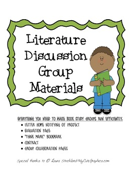 Literature Discussion Group Packet
