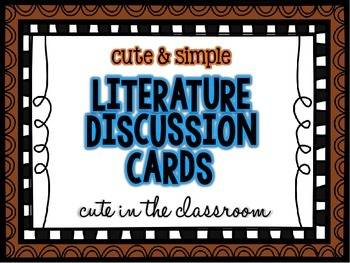 Literature Discussion Prompts