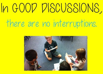 Literature Discussions: Accountable Talk to Promote Learning