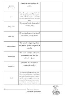 Literature Elements