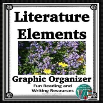 Literature Story Elements Graphic Organizer Freebie