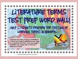 Literature Elements Test Prep Pack: Small Large Color/BlackWhite