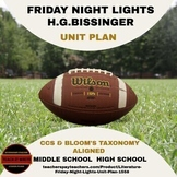 Literature - Friday Night Lights Unit Plan Distance Learning