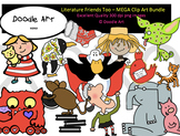 Literature Friends Too - Mega Clipart Bundle