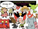 Literature Friends Too - Mega Clipart Bundle