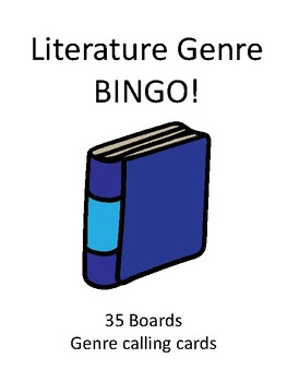 Literature Genre BINGO!
