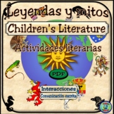 Legend and Myth Literary Organizer and Activities - Mitos
