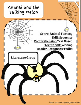 Literature Group: Anansi and the Talking Melon