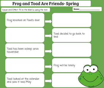 Literature Group-Frog and Toad Are Friends