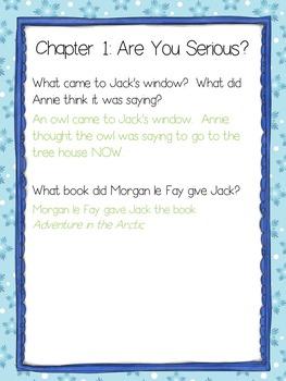 Literature Guide - Magic Tree House # 12: Polar Bears Past Bedtime