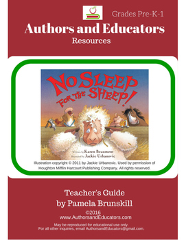 Literature Guide: NO SLEEP FOR THE SHEEP! By Karen Beaumont and Jackie Urbanovic
