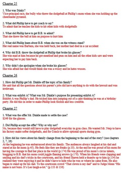 Literature Guide - The Studpendous Dodgeball Fiasco