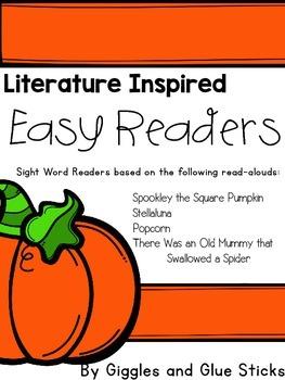 Literature Inspired Easy Readers (October)