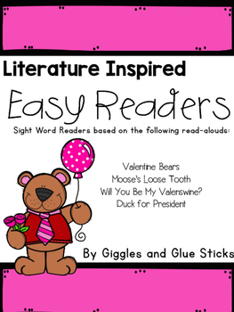 Literature Inspired Easy Readers (February Read Alouds)
