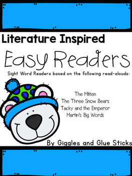 Literature Inspired Easy Readers (January Read Alouds)
