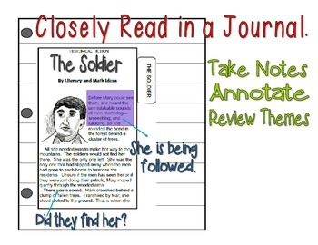 Literature Interactive Journal Passages (Theme: Doing the Right Thing)