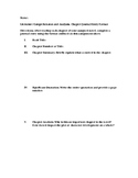 Literature Journal Entry Template for High School
