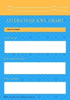 Literature KWL Chart