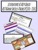 Literature & Key Ideas RIT Band Skills Packet (201-210)