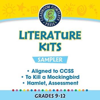 Literature Kits Sampler Gr. 9-12