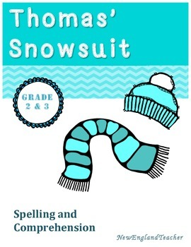 Literature Link: Thomas' Snowsuit by Robert Munsch