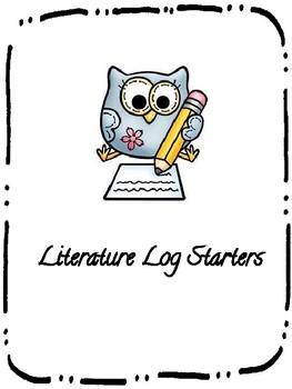 Literature Log Starters