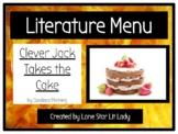 Literature Menu: Clever Jack Takes the Cake (PDF Format)