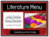Literature Menu: Judy Moody, Mood Martian