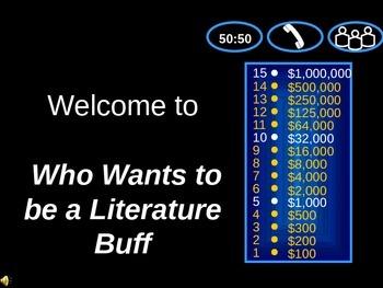 Literature Millionaire Game