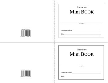 Literature Mini Book