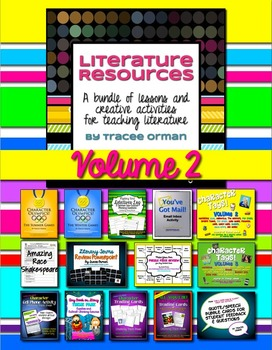 Literature & Nonfiction Creative Reading Activities, Volume 2
