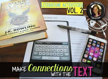 Literature & Nonfiction Creative Reading Activities, Vol 2 Bundle