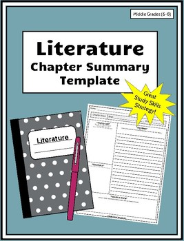 Chapter Summary Template