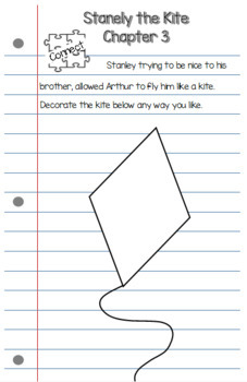 Literature Notebook for Flat Stanley