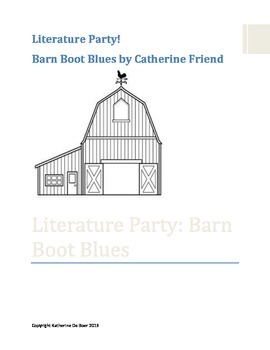Literature Party: Barn Boot Blues