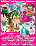 Summer Reading Comprehension Review 24 Fairy Tales, Fables, Folklore, & More