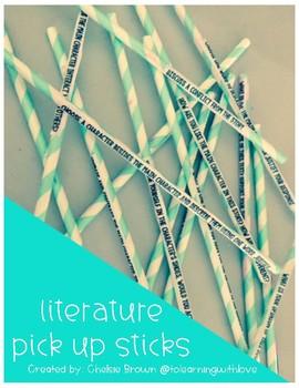 Literature Pick Up Sticks