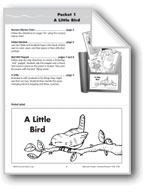 Literature Pocket/Nursery Rhyme: A Little Bird