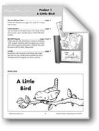 Literature Pocket/Nursery Rhyme: A Little Bird