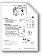 Literature Pocket: Nursery Rhyme Cube