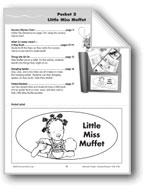 Literature Pocket/Nursery Rhyme: Little Miss Muffet