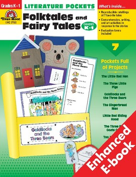Literature Pockets, Folk Tales and Fairy Tales, Grades K-1