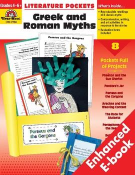 Literature Pockets, Greek & Roman Myths