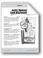 Literature Pockets: Nonfiction: Arts, Sports, and Recreation