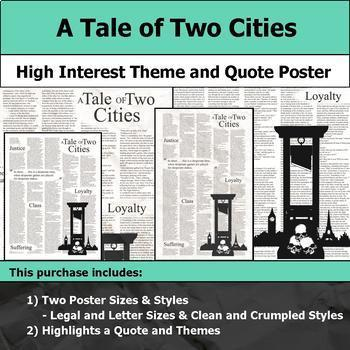Literature Poster Pack #1 - High Interest and Engaging Theme and Quote Posters