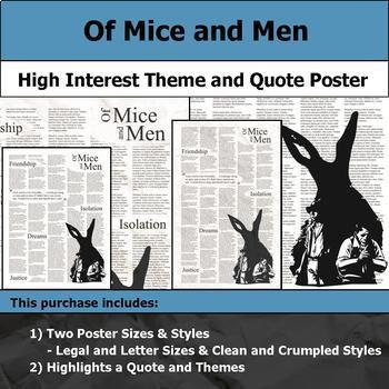 Literature Poster Bundle #2 - High Interest and Engaging Theme and Quote Posters